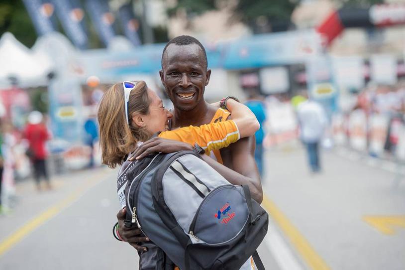 Chiara Raso e Thomas Lokomwa - Stralugano 2015