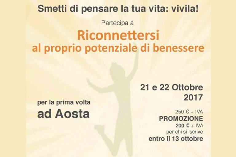 Read more about the article RICONNETTERSI AL PROPRIO POTENZIALE DI BENESSERE