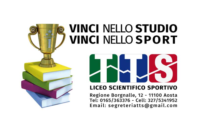 LICEO SCIENTIFICO SPORTIVO, UNICO AD AOSTA!