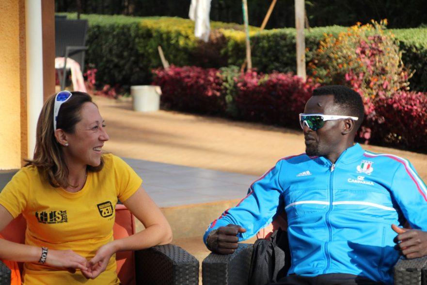 Chiara Raso - THE HEART OF KENYAN RUNNING - LO STAFF ITALIA KENYA - TTS Aosta